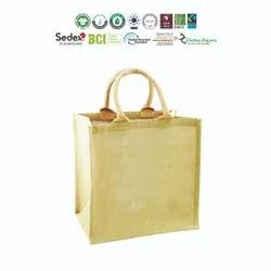 Bio Cotton Jute Bag