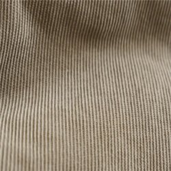 Fine Beige Corduroy Velvet Fabric