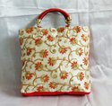 Multicolor Embroidered Gift Bag