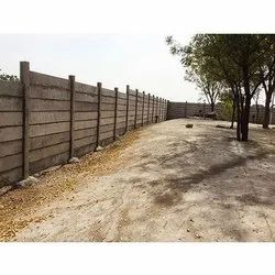 Pretressed Boundary Boundry Wall