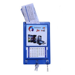 Jio Reliance Key Holder with Calendar & Later Box