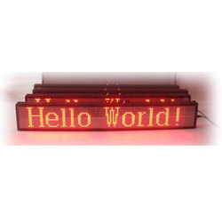 Single Color RED LED Display