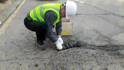 Center Line Road Repair Solution