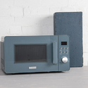 Haden 186690 Perth Sleek Microwave, 20 Litre, 800 W, Slate Grey