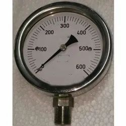 Bottom Connection Capsule Operated Low Range Pressure Gauge
