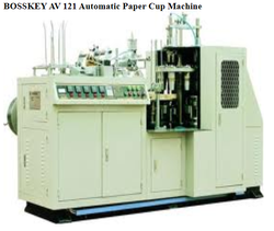BOSSKEY AV 121 Automatic Paper Cup Machine