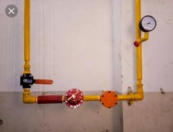 LPG Gas Pipeline Installation