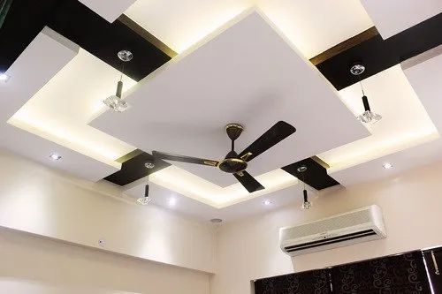 Color Coated Cement Sheet Ceiling For Residential Offices Thickness 4mm 10mm Rs 60 Square Feet Id 22337832391
