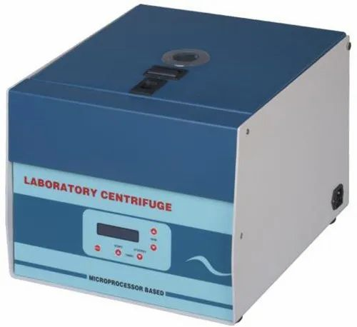 Weswox Lab Centrifuge Digital Swing Out Rotor 4 x 50 mL 5200 R.P.M