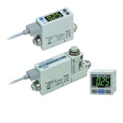 SMC 2-Color Display Digital Flow Switch PFM
