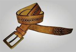 Leather Men Belt