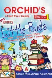 Orchids Little Buds UKG Term 1 Book