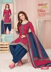 Aarvi Fashion Aarvi Special Patiyala Vol 11 Ready Made Cotton Patiala Dress Collection