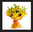 Yellow Aura Flower Bunch