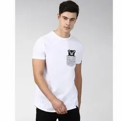 Mens Printed Round Neck T Shirt