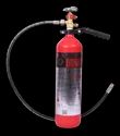 Red New 3kg Co2 Type Portable Fire Extinguisher