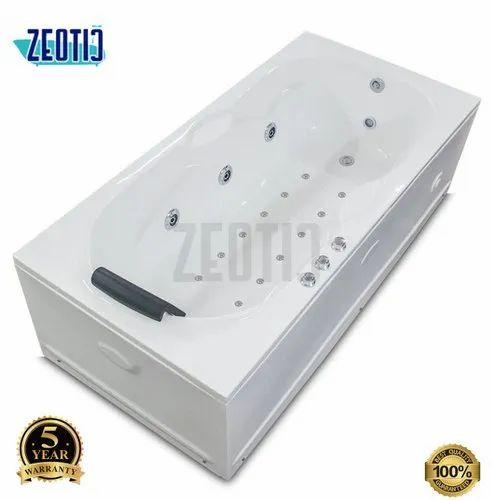 Orion White Norway Jacuzzi Bath Tub Zeotic