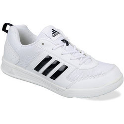 on sale 563b3 f1aee Adidas white school shoe