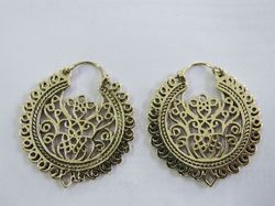 Brass Fancy Ear Rings
