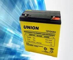 Union 13.8 Float Charging E Bike Battery 12V-24Ah, Maximum Charging Current: 3