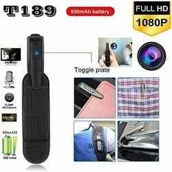 10 to 15 m Safety Net1 T189 Mini 8MP Full HD Spy Pen Camera