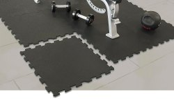 Gym Rubber Flooring Tile Installation Service