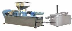 Batch Type Kurkure Production & Frying Line