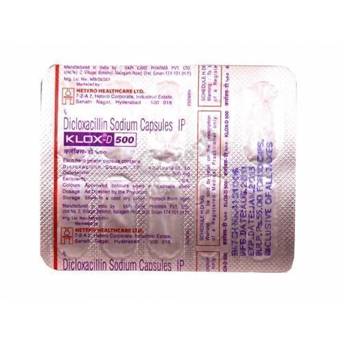 Dicloxacillin Tablets, Packaging Type: Strips