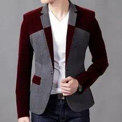 Amogue Cotton Men Designer Blazer