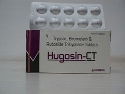 Trypsin  Bromelain & Rutoside   Tablet