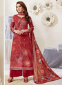 French Crepe Daily Wear Palazzo Suits Collection