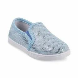 KTG814L Blue Kids Slip On Shoes