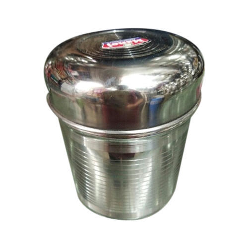 Stainless Steel Food Storage Container Capacity 10 KG Rs 660