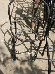 Round Iron Chair