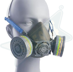 Gas / Vapour/ Odour Protection Half Mask