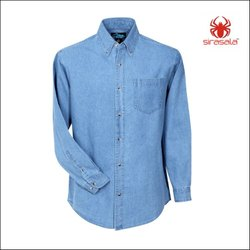 Hooded Denim Shirts