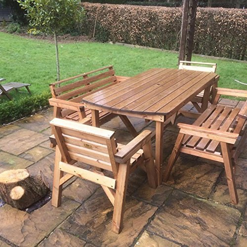 Wooden Garden Furniture, Seating Capacity: 6