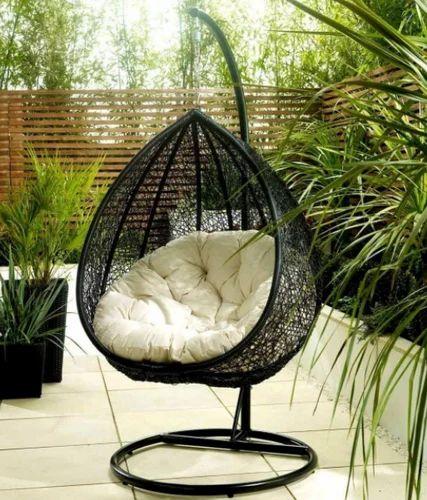 Wicker Furniture Patio Swing