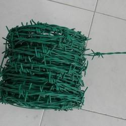 PVC Coated Barbed Fencing Wire
