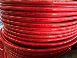 Red Round High Pressure Thermoplastic Jack Hose, Nominal Size: 1/2 Inch