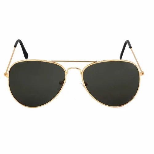 d8ea323c263 Black Lens Golden Sunglasses