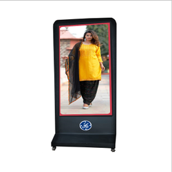 10mh Stainless Steel Digital Signage Display