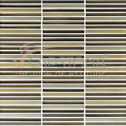 Rail Gold Alloy Highlighter Wall Tiles