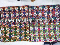 Digtally Silk Print Fabrics