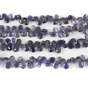 Natural Iolite Faceted Beads