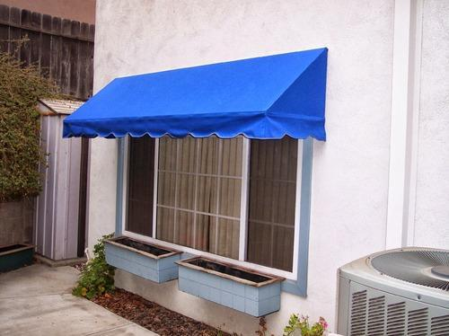 Blue Designer Awnings Shri Sai Furnishing And Interiors