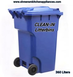 Wheeled Garbage Bin 360 Ltr