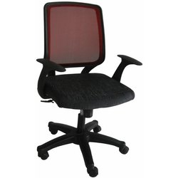 Avec Bois Black Back Support Geeken Mesh Office Chairs
