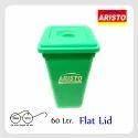 Garbage Waste Bin 60 Ltr Flat Lid