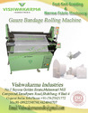 Surgical Gauze Bandage Rolling Machine
